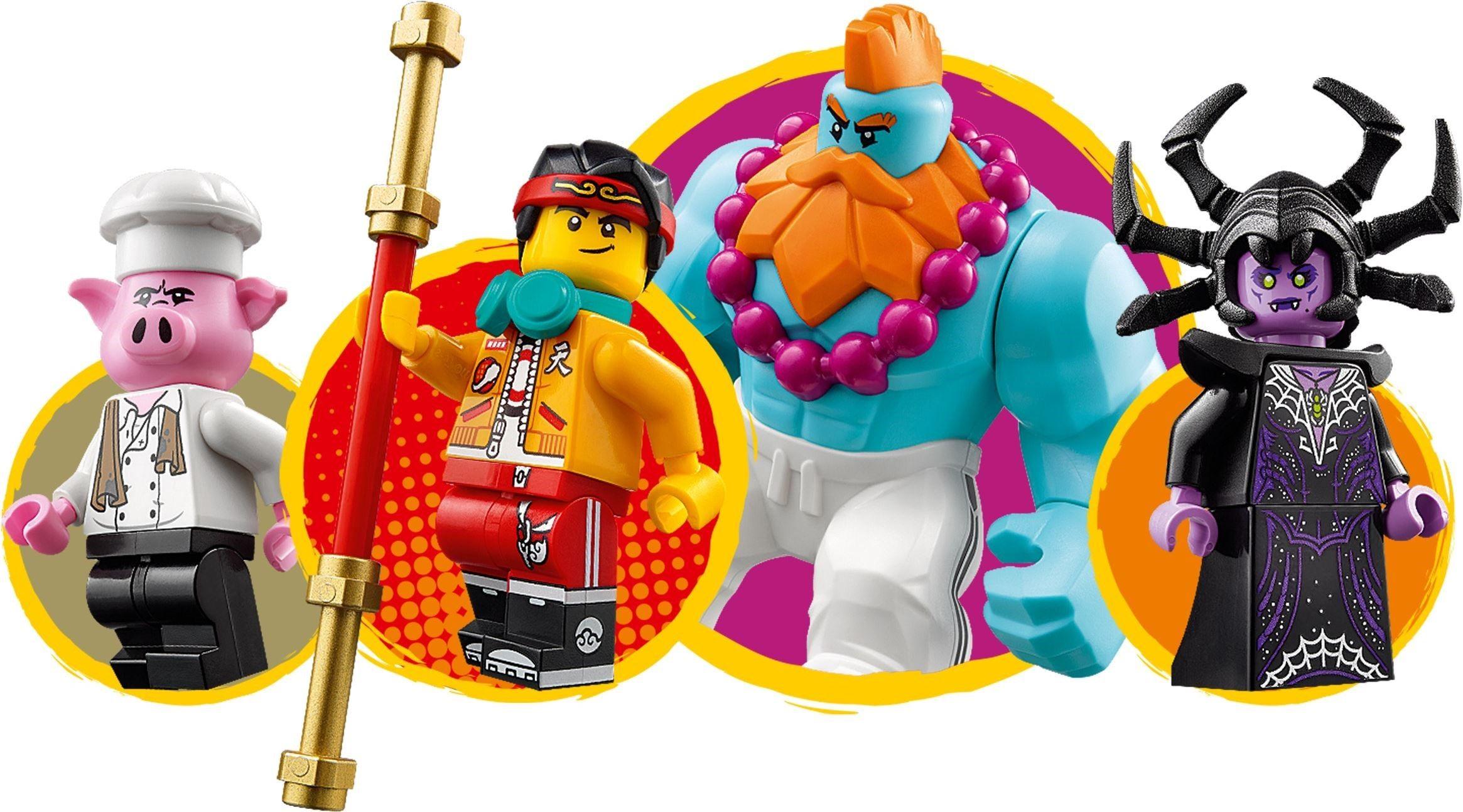 Lego 80014 Monkie Kid Sandy S Speedboat Lego Design Lego Lego News