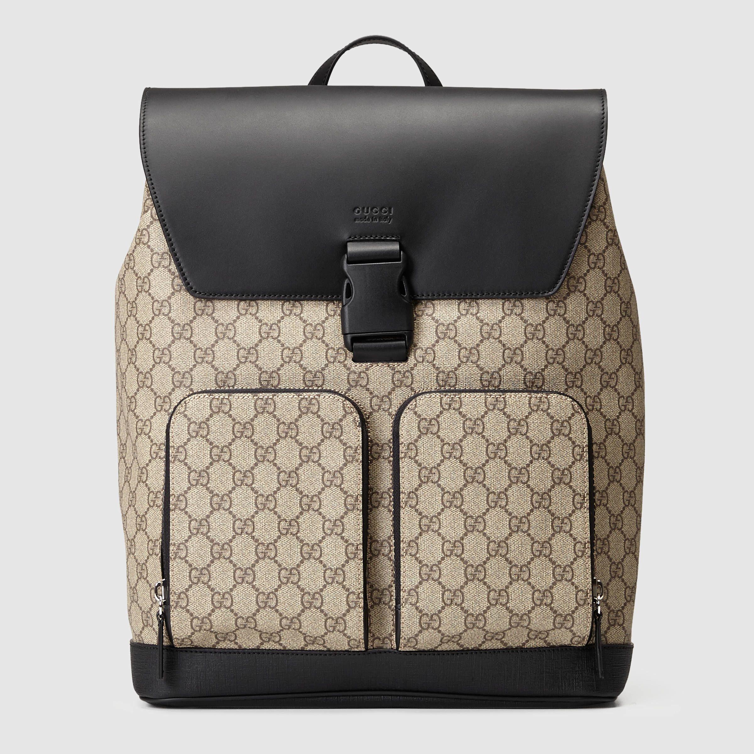 dd63df304c931a gucci canvas | Gucci Gg Supreme Backpack in Multicolour (GG supreme canvas)  | Lyst