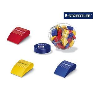 Staedtler Wedge Rubber With Free Noris Club Coloured Pencils And Hb Pencil