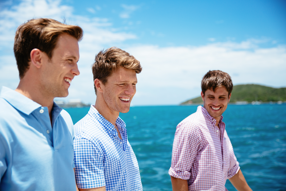 Short Sleeve Classic Skipjack Polo in True Blue by Southern Tide