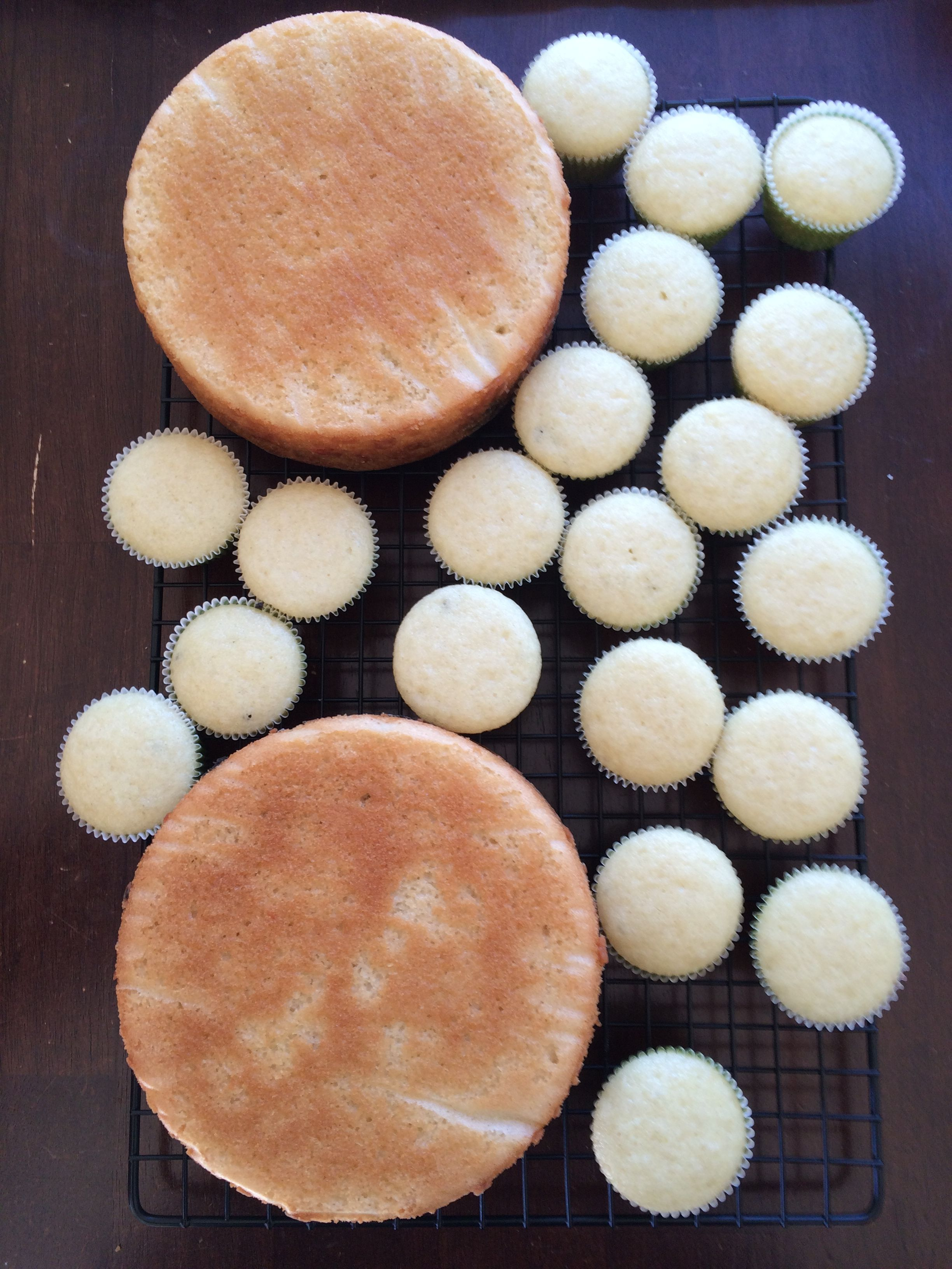 easy eggless vanilla cake cupcakes recipe no condensed ...