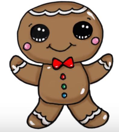 Cookie Drawing Drawings Cookie Drawing Kawaii Cookies