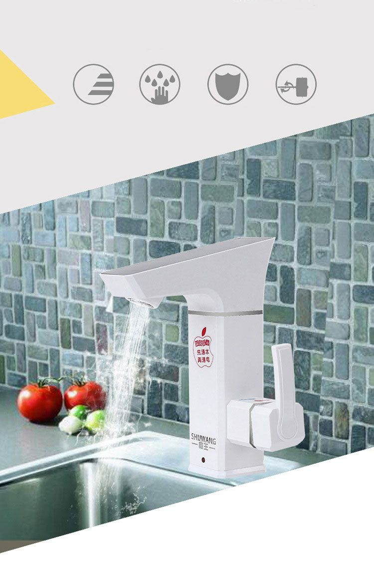3000W Bathroom Electrical Water Heater Leakage Protection Plug ...