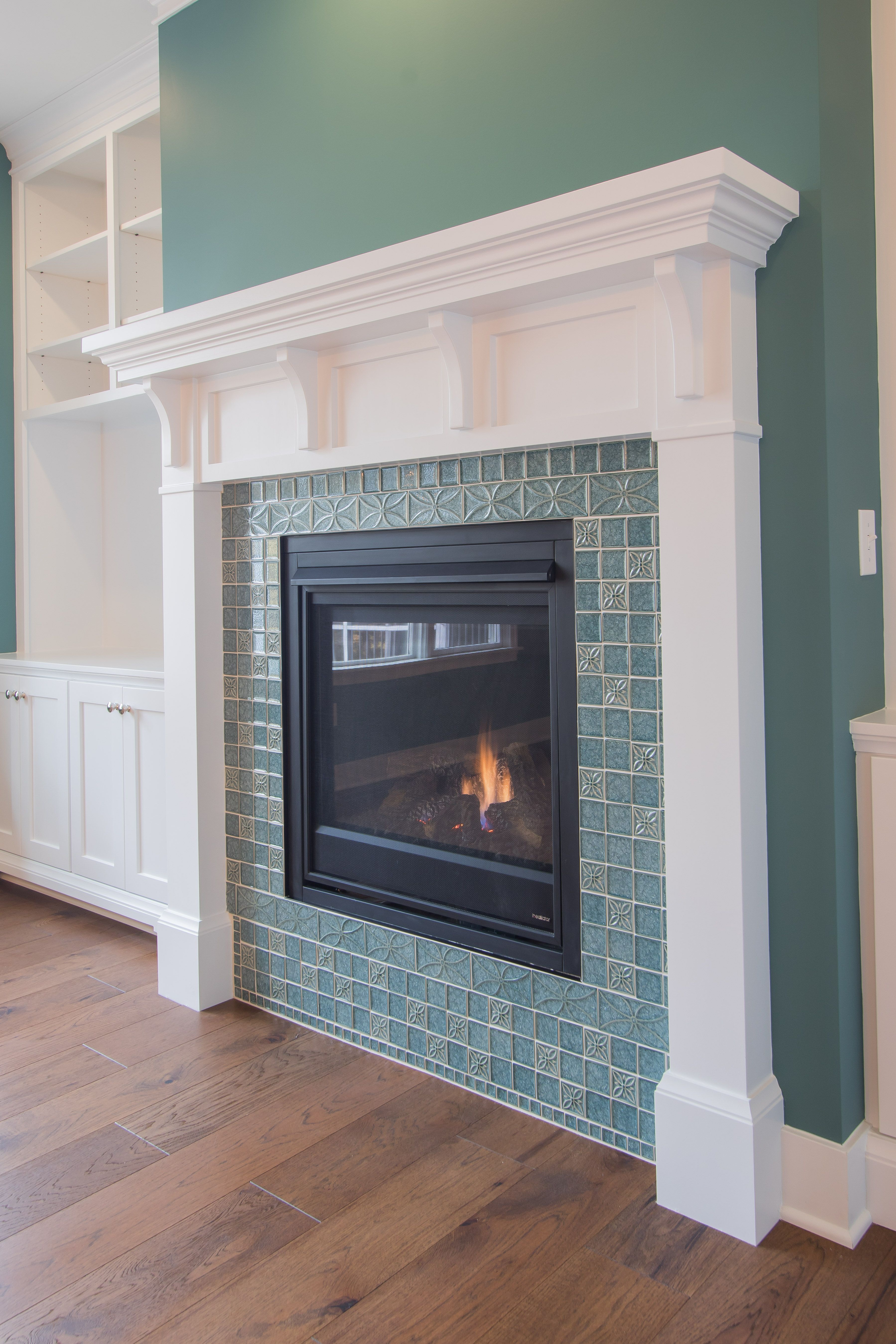 27 Stunning Fireplace Tile Ideas For Your Home Fireplace
