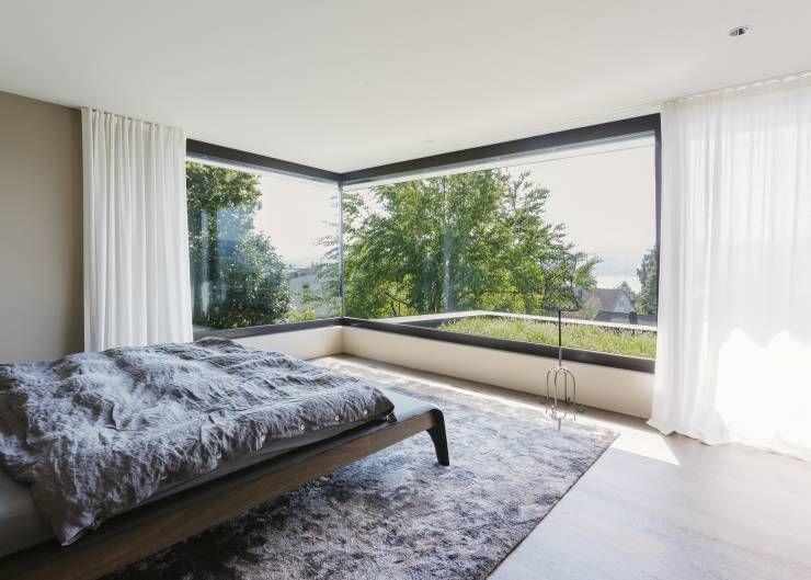 modernes haus mit berraschungseffekt interior design pinterest modernes schlafzimmer. Black Bedroom Furniture Sets. Home Design Ideas