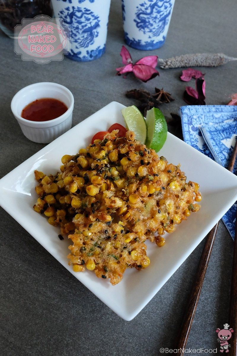 Crunchy Corn Fritters Recipe Fritters, Corn fritters, Food