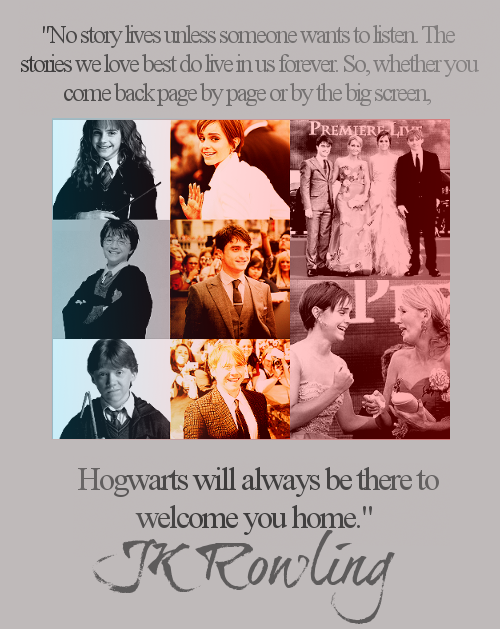 <3 JK Rowlings