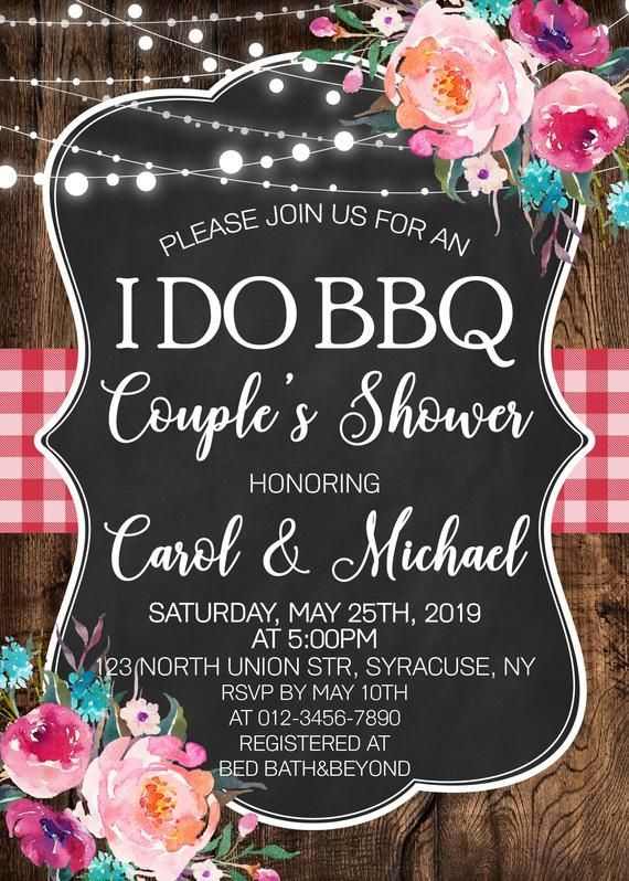 Bbq Couples shower invitation, bbq Invitation, Barbecue Engagement Party, Bridal Wedding, Couples shower, DIGITAL FILE ONLY-1850