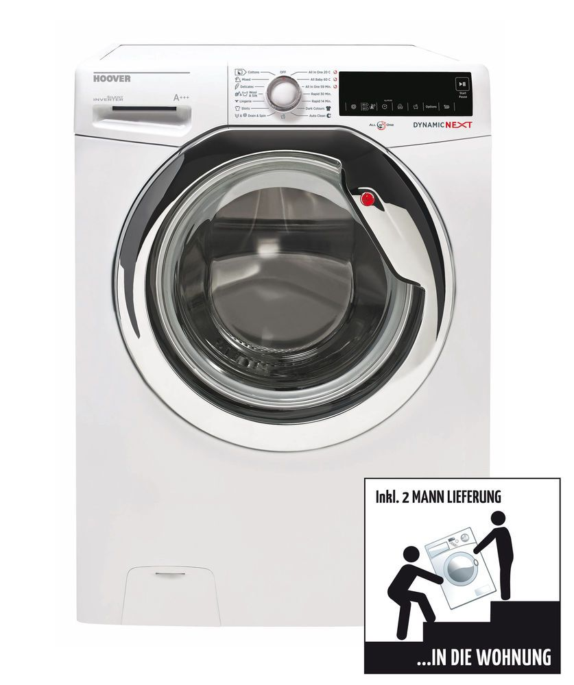 Hoover dxa ah s dynamic waschmaschine eek a umin