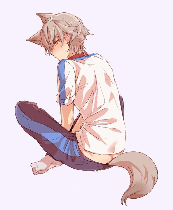 Ensemble Stars Tumblr Wolf Boy Anime Neko Boy Anime Wolf