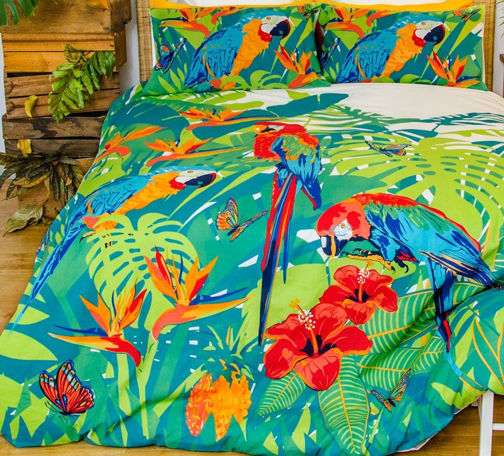 Bedroom themes. Tropica Quilt Cover Set   Quilt cover  Teen and Bedrooms