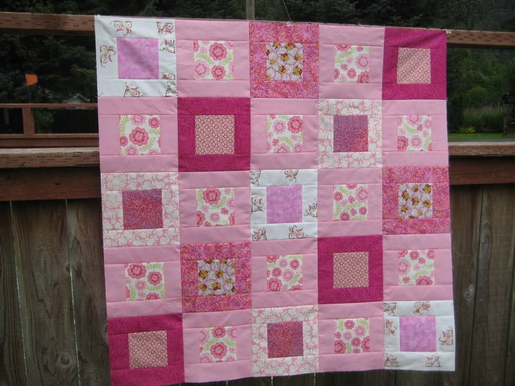 Simple Baby Quilt Martha Stewart Sewing Projects Baby Quilt