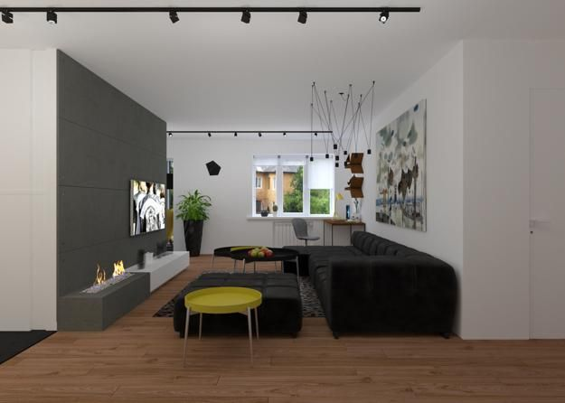 Single Guy Apartment Ideas Blending Functionality and Masculine ...