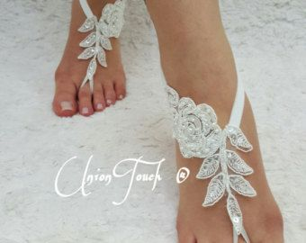 Barefoot Sandals Wedding Shoes By UnionTouch