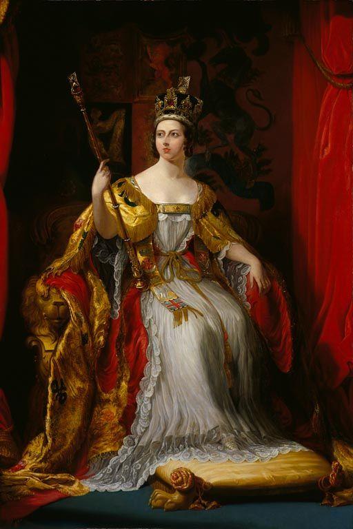 Queen Victoria by George Hayter, 1860