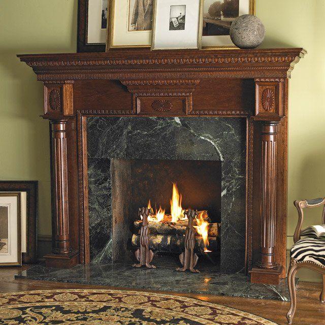 Heritage Custom Cherry Wood Fireplace Mantel Surround Wood