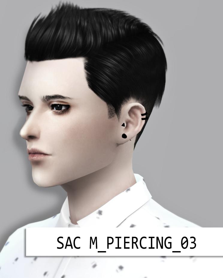 tumblr   Sims 4 Male   Sims 4 piercings, Tumblr sims 4, Sims 4