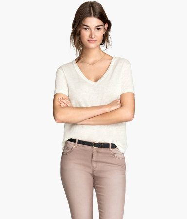 5fdc5b4aaa this may be the perfect slouchy v neck I've been looking for ...