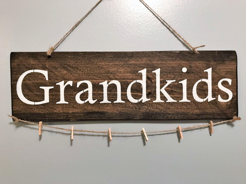 Grandkids Sign Grandkids Make Life Grand Sign Grandchildren Sign