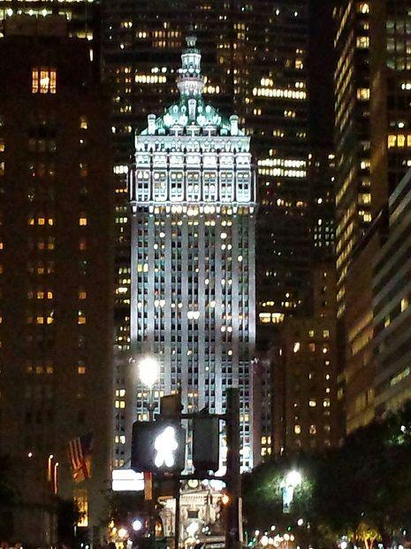 Park Avenue view
