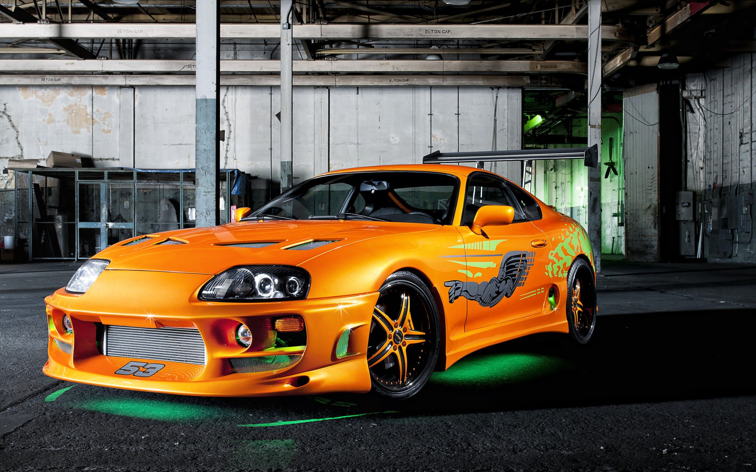 Cars supercars toyota supra the fast and the furious 2560x1600 wallpaper