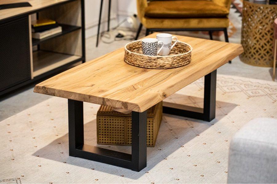 table basse rectangulaire emma chene
