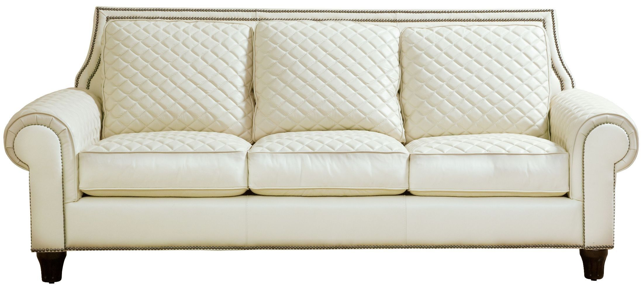 Wellesley Ivory Quilted Leather Sofa Sofa Sale Leather Sofa