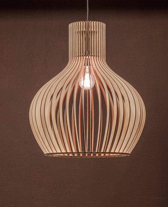 Scandinavian Style Wooden Hanging Lamp Lighting Design Lamp Kitchen Lamp Birchwood Lamp Natural White Wood Lamp Pendant La Wood Lamps Hanging Lamp Wooden Light