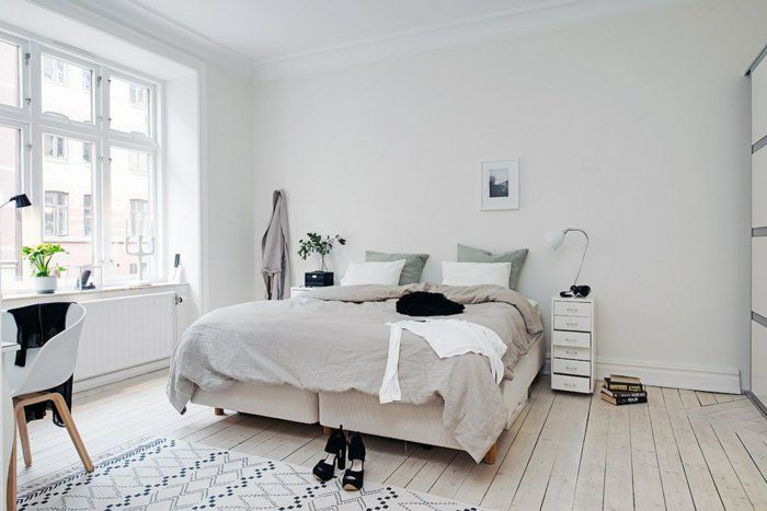 Einrichtungsideen Schlafzimmer Skandinavisches Design