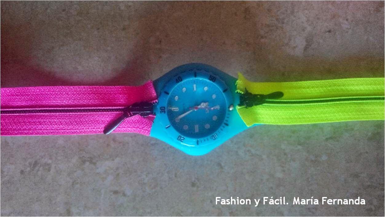 Fashion y Fácil DIY: Mira lo que puedes hacer con un par de cremalleras coloridas (Look what you can do with a pair of colorfull zippers)