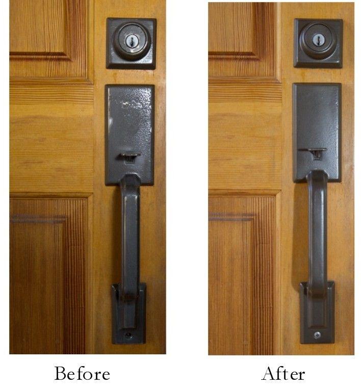 Edited Entry Painting Door Hardware Exterior Door Hardware Painted Exterior Doors Exterior Door Handles
