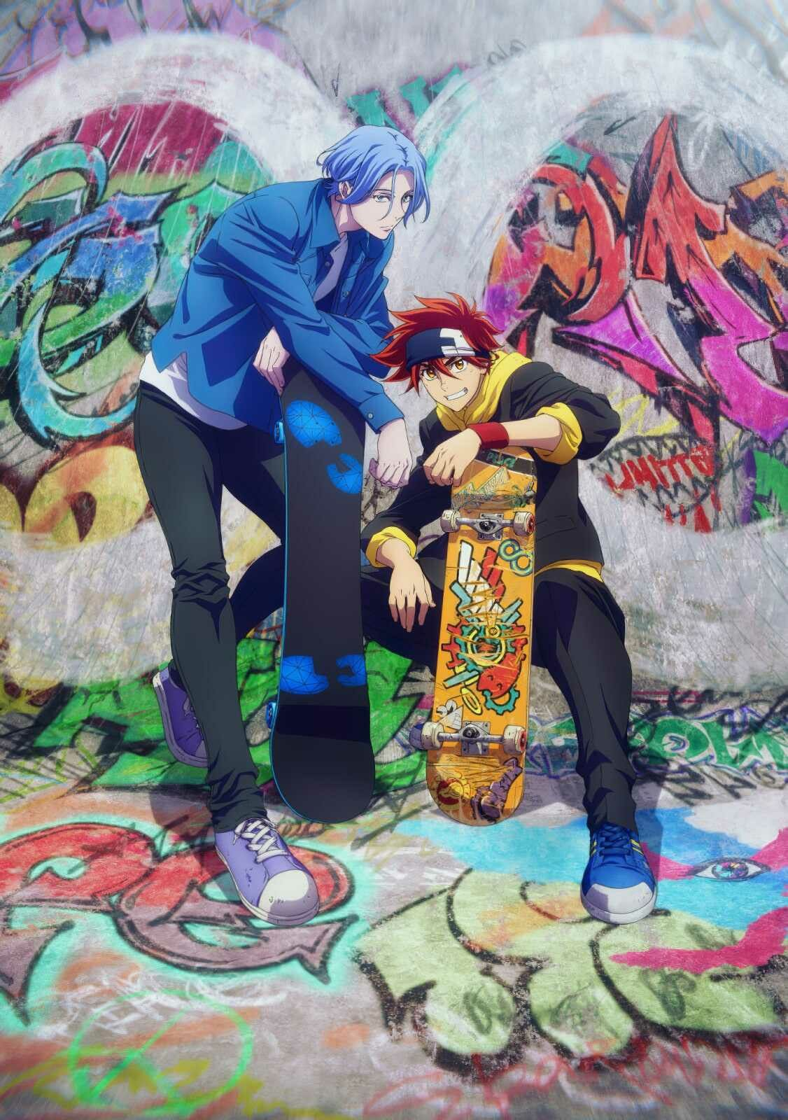 SK∞ LANGA & REKI in 2021 | Anime, Reki, Anime wall art