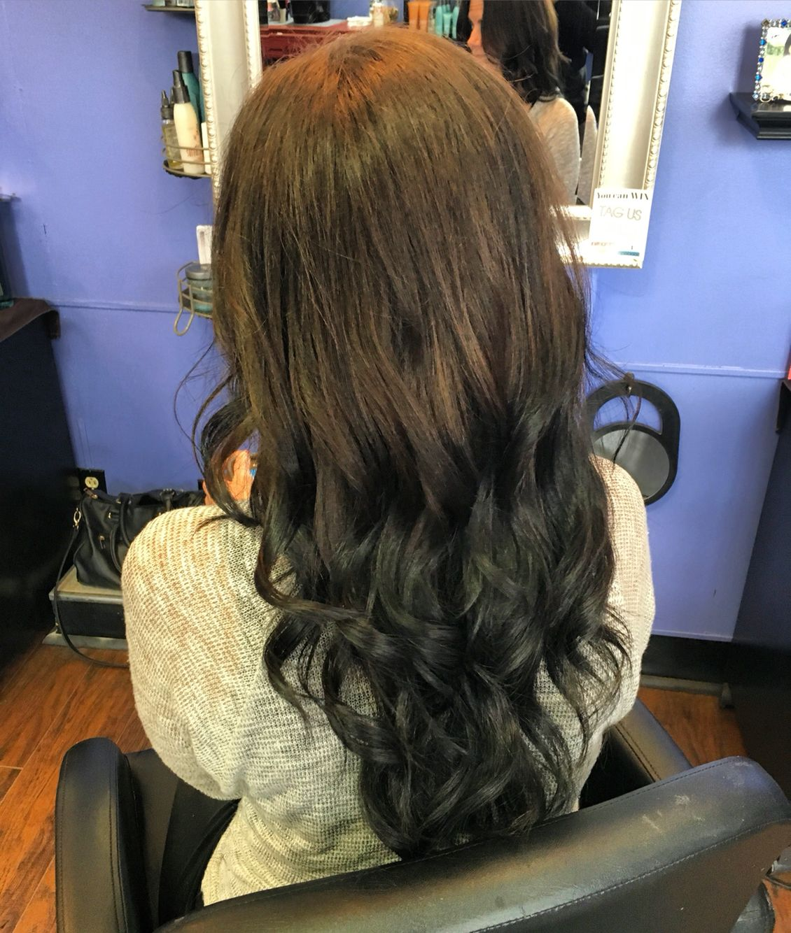 Reverse Ombre Light To Dark Ombre Salon Atmosphere Reverse Ombre