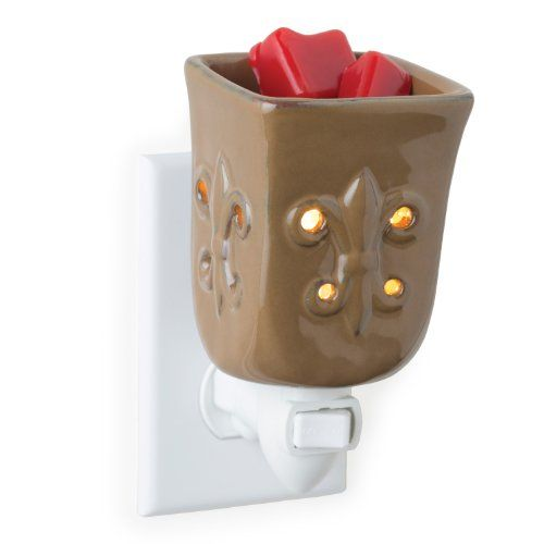 Candle Warmers Etc Pluggable Fragrance Warmer Toffee Fleur De Lis ** See this great product.