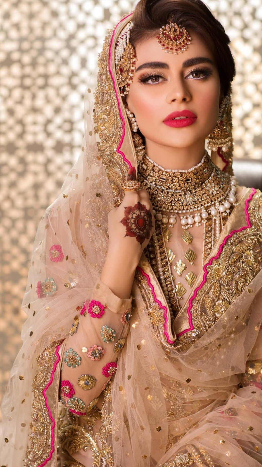 Pin by anam jumlana on makeup tricks Indian wedding