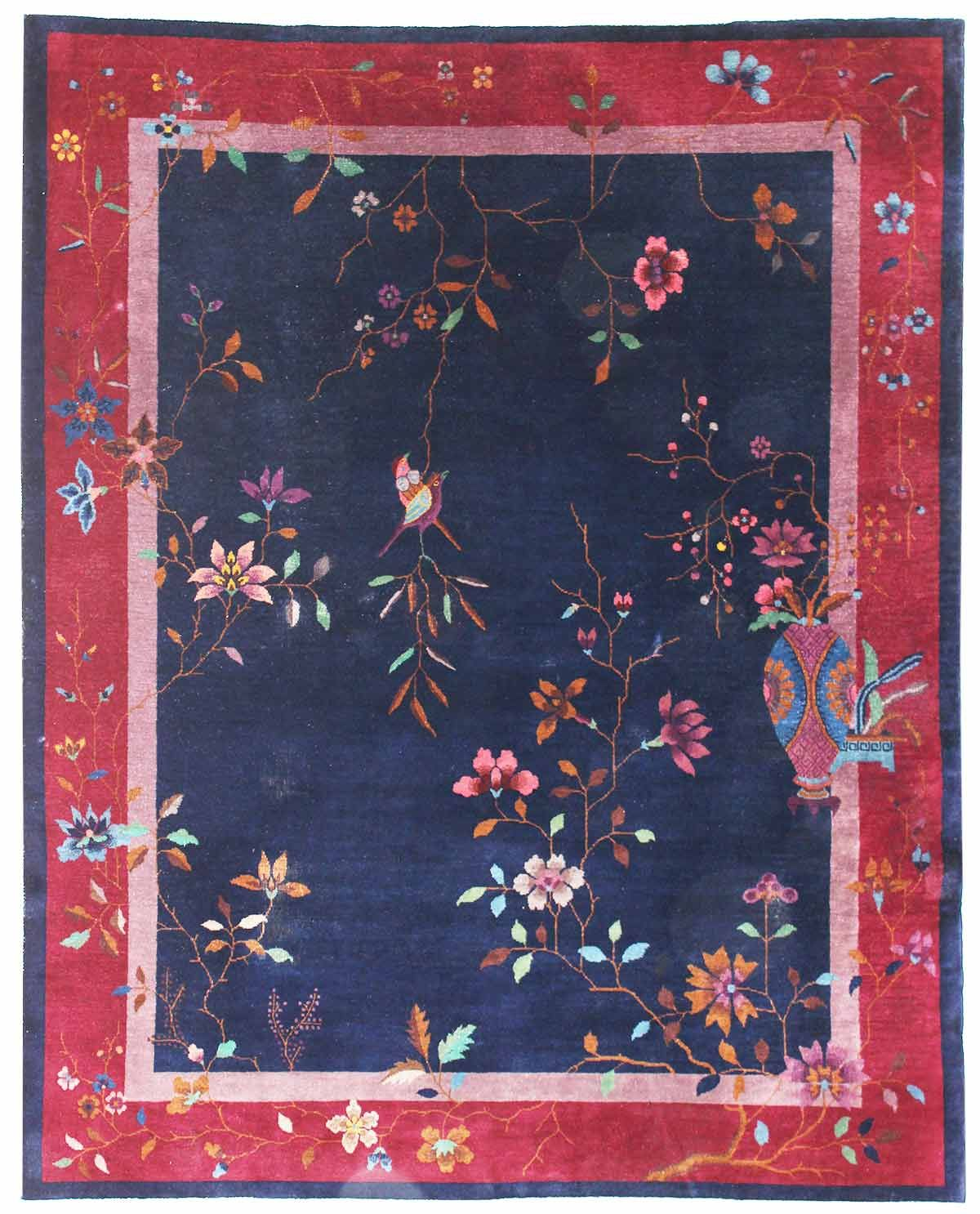 Antique Chinese Rugs Gallery Antique Art Deco Rug Hand Knotted In China Size 7 Feet 10 Inch Es X 9 Feet 3 Inch Es Art Rugs Antique Art Deco