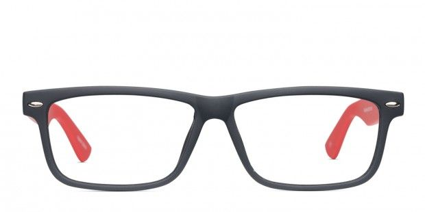 Everett Black W Red With Images Buy Glasses Online Glassesusa