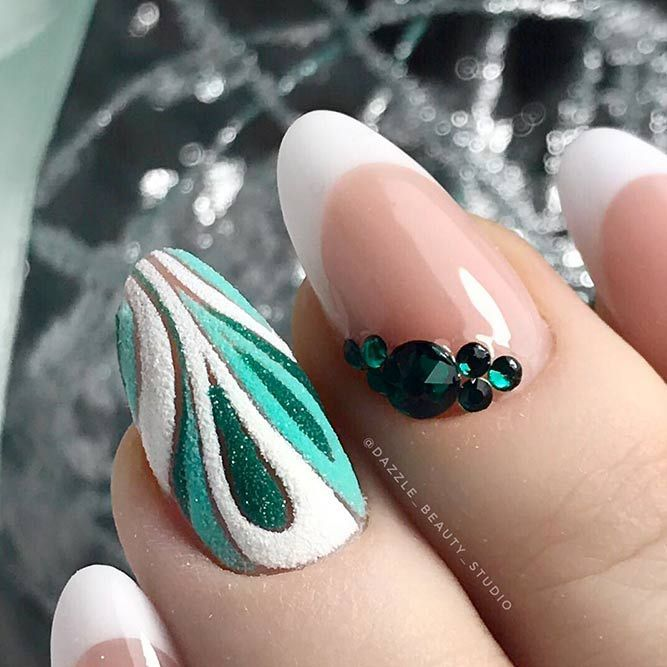 + 66 Trendy Long Acrylic Nails Art 2018