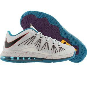 6dd43e634ee Nike Men Air Max LeBron X Low (metallic platinum   black   tropical teal    chllng) 579765-002 -  165.00