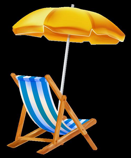 Sonnenschirm clipart gratis  Beach Umbrella with Chair PNG Clipar   Море, пляж   Pinterest ...