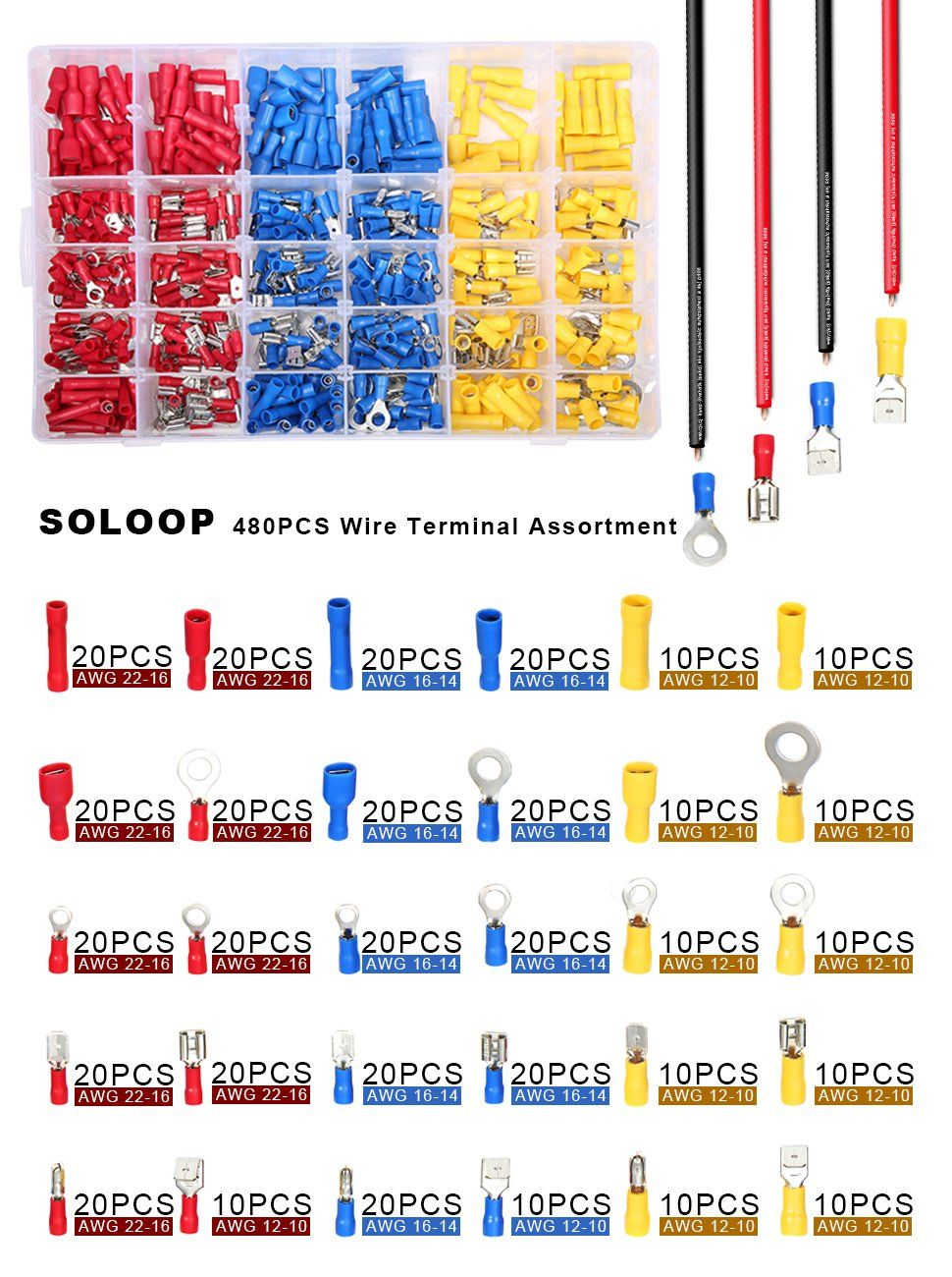 image result for electric bullet connectors for autos color chart for wire size [ 970 x 1300 Pixel ]