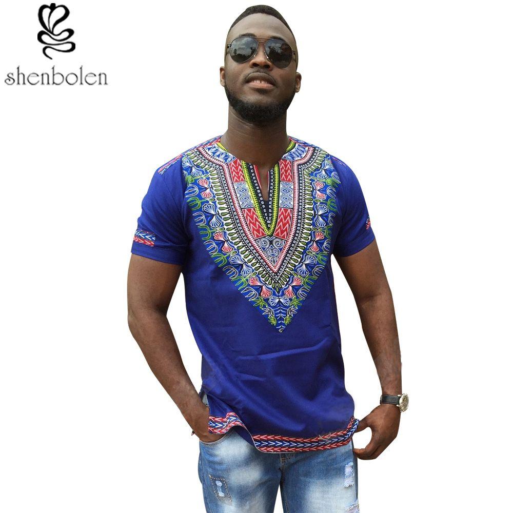 Assez 2016 été automne hommes vêtements Africain dashiki vêtements  LO56