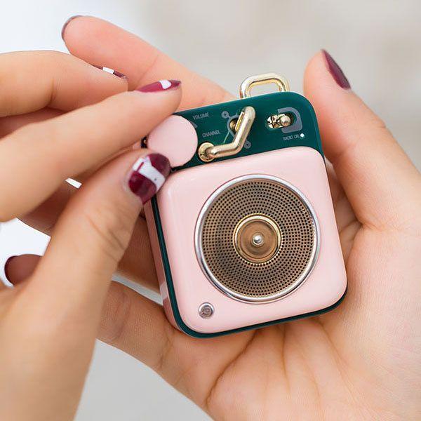 Mini Record Player Speaker from Apollo Box