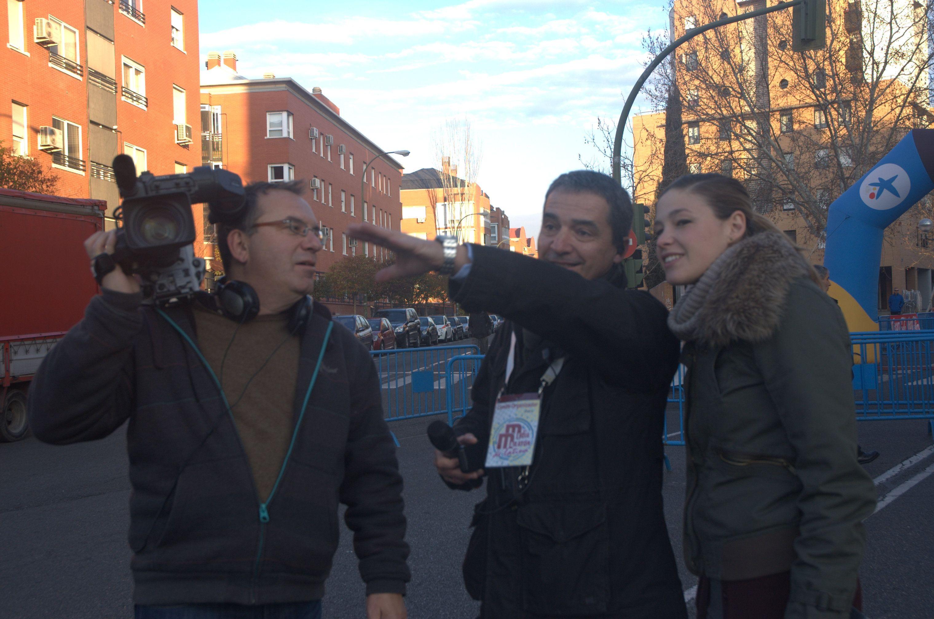 Equipo de reporteros de Telemadrid