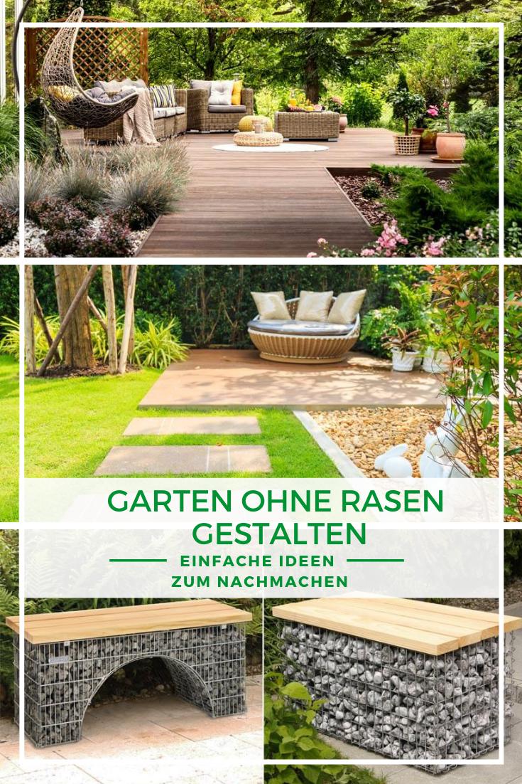 Garten Ohne Rasen Gestalten 7 Schone Einfache Ideen Zum Nachmachen In 2021 Garten Gestalten Garten Gartengestaltung