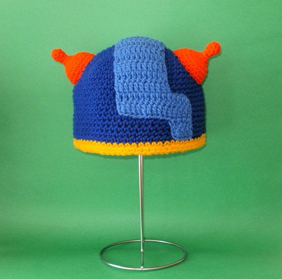 Crochet Pattern PDF Geo Hat. Beanie and Earflap. by FunyCreation