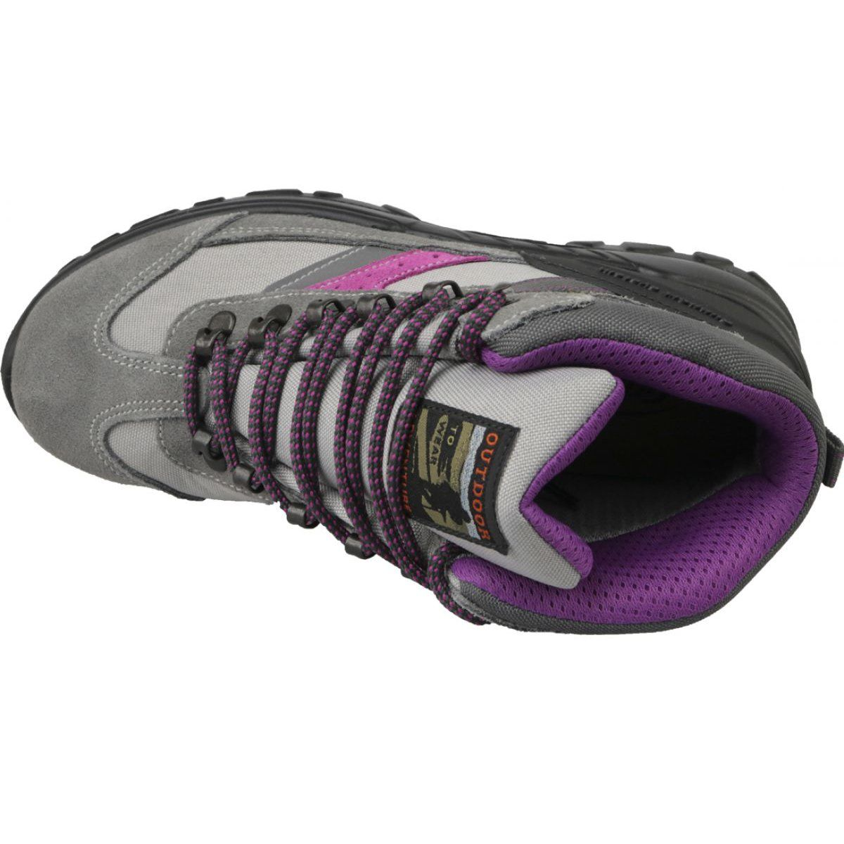 Grisport Grigio W 13316s7g Shoes Grey Hiking Boots Women Sport Shoes Women Hiking Women