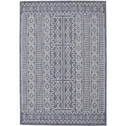 Photo of Peru – dunkelblau / Beige Teppich 160×230 Moderner Teppich RugvistaRugvista