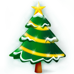 Christmas Tree Sticker Holiday Icon Tree Stickers Christmas Drawing