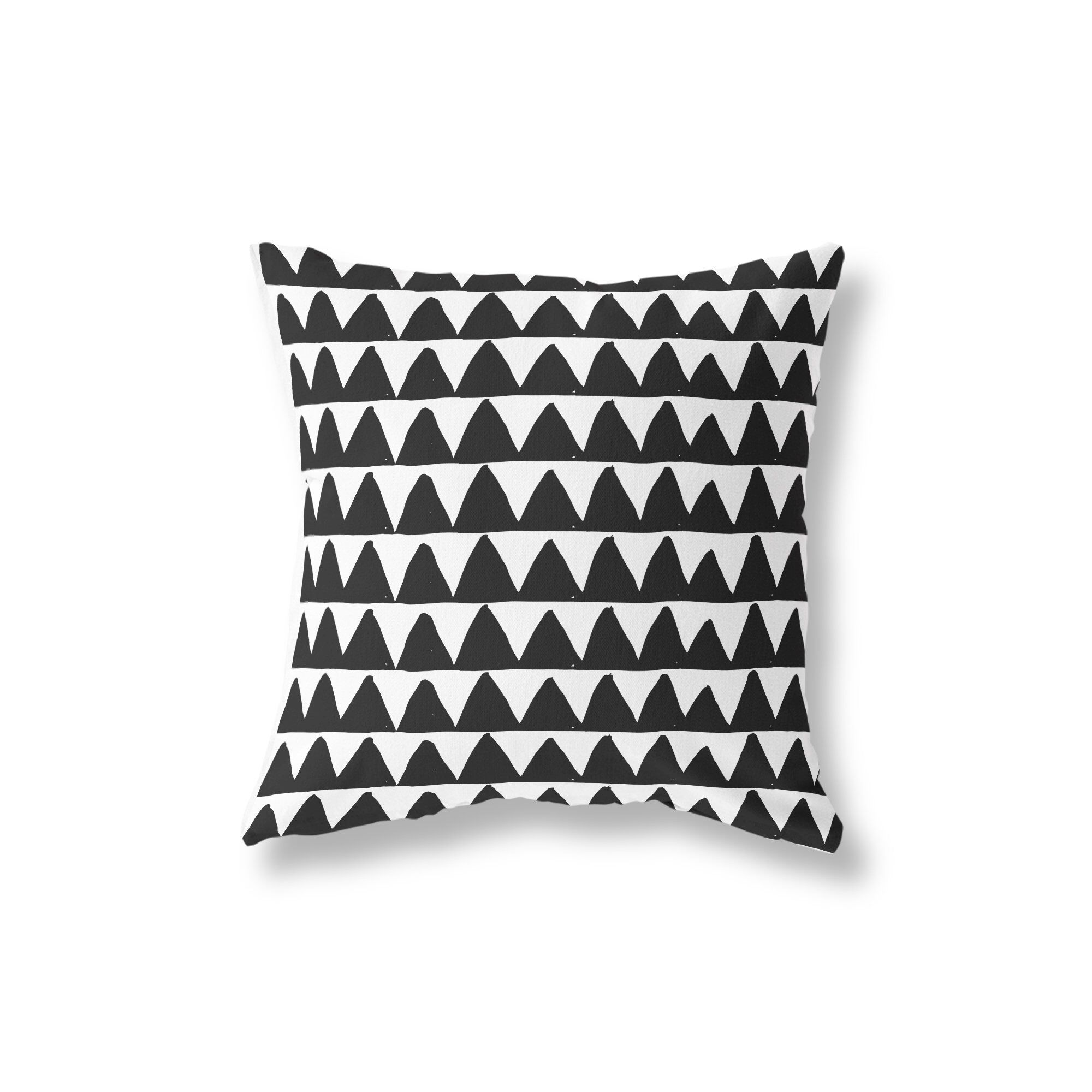 Black White Mix And Match Pillow Covers Accent Pillows Geometric Throw Pillows 14x14 16x16 18x18 20x20 26x26 Throw Pillows Geometric Throws White Pillow Covers